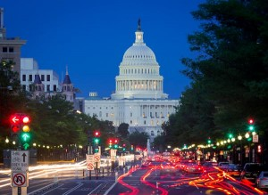 Pennsylvania Avenue at Night