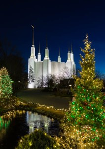Mormon Temple in Washington